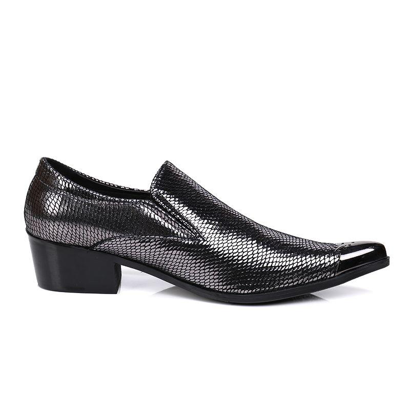 Новое поступление горячей продажи Мужская скольжению на Sequined Мокасины Мужские повседневные туфли с блестками Flats Золотые Colors