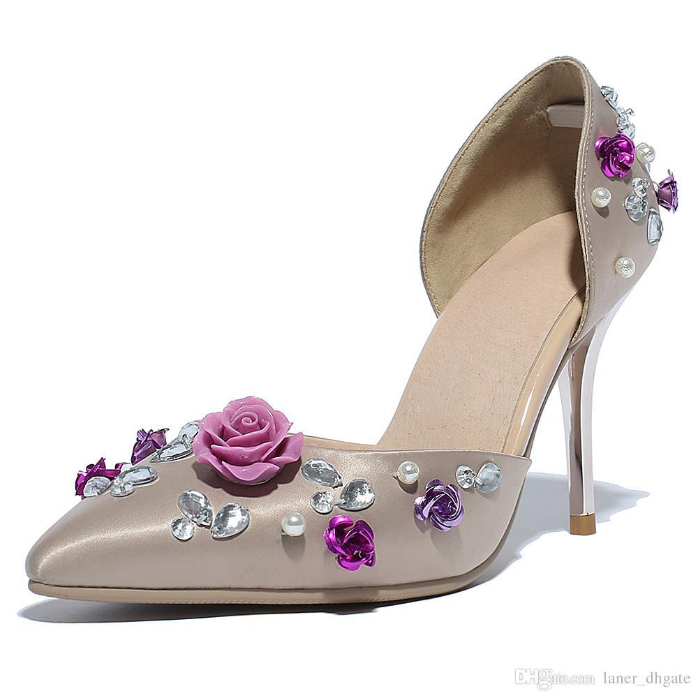 Großhandel 2016 Neue High Heels, Spitze High Heels, Flache Schuhe ...