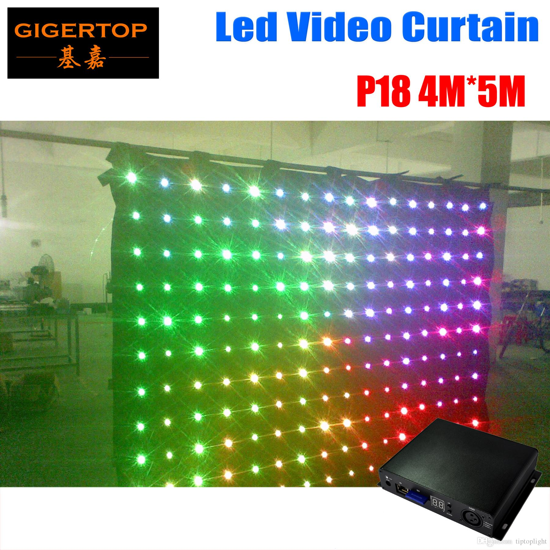 Lights & Lighting Pc Controller Led Soft Curtain Display Led Cortinas Led Video Curtain In Short Supply Free Shipping