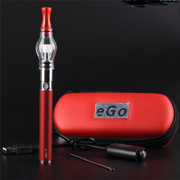eGo E cigarette Glass Globe wax/dry herb Vaporizer glass dome pen ego t ego-t 650/900/1100mah starter kit