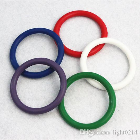 Sex Ring Penis Rings Rainbow Cock Ring Delayed ejaculation Adult Products Casing Delay Lock Loops Cockrings Set A36