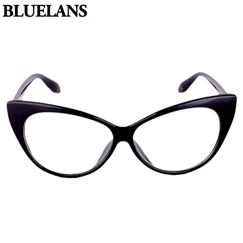 aa08047a60 Wholesale- Bluelans Women Classic Sexy Vintage Cat-Eye Shape Plastic Plain  Eye Glasses Frame Eyewear