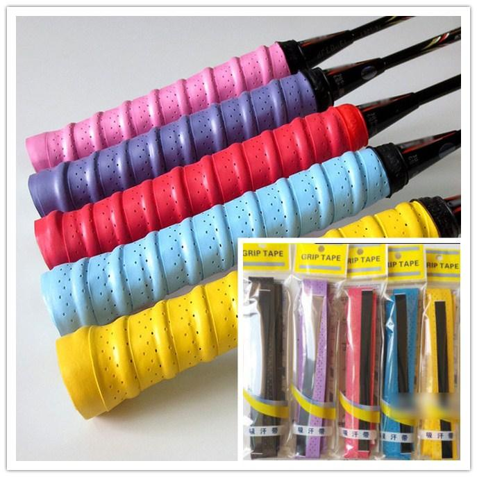 Badminton Racquet OverGrip Fishing Tenis Skidproof Sweat Band grip Tennis Racket Overgrips Anti-skid Sweat tape Absorbed Wraps free ship