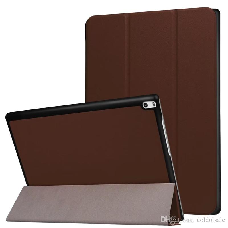 Ultra Slim PU Leather Cover Case for Lenovo TAB 4 10 Plus TB-X704N TB-X704F TB-X704 10.1 inch Tablet + Stylus Pen