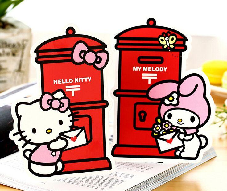 2018 Wholesale New Fashion Random Cute Cartoon Hello Kitty Melody