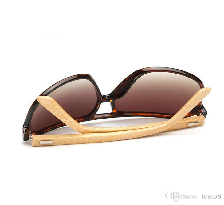 New Arrival Men Women Classic Retro Sunglasses Bamboo Foot Dazzle Colour Resin Lenses Goggles Glasses Eyeglasses