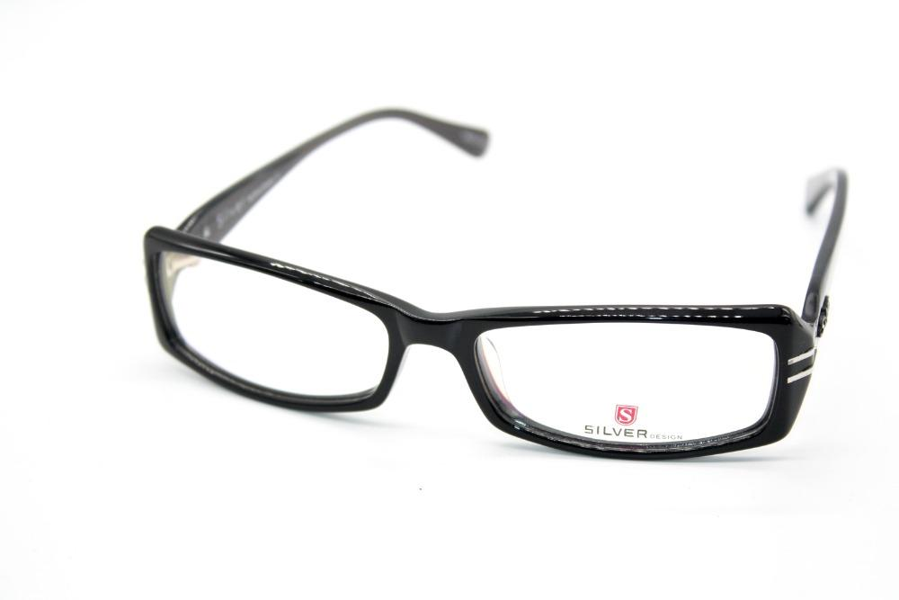 c60f6aa884f4 Wholesale- GENUINE HAND MADE GLASSES SIL DESIGN BLACK GLASSES FRAME ...