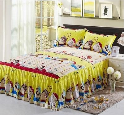 home textile single bed set fitted sheetsheets queen and king size bed cover 100cotton b from qq419052601 dhgatecom