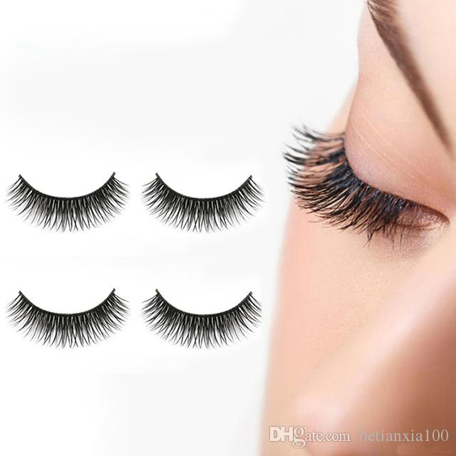 Fake Eyelashes Natural Thick Long False Eyelashes Fake Eye Lashes