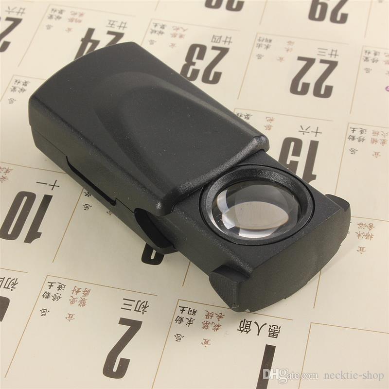 30x21mm a trazione occhio di vetro Magnifier Jewelers Loupe lente Gioielleria Hallmark Magnifing Guarda LED Repair Tool