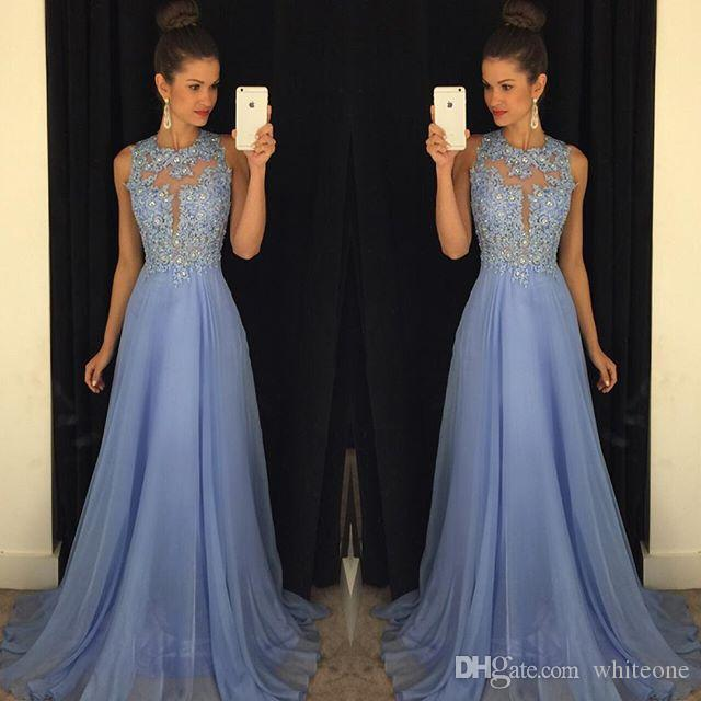 2017 Summer Garden Country Style Bridesmaid Dresses Sexy Open Back Lace Beaded Floor Long Lavender Chiffon Wedding Guest Party Gowns Cheap
