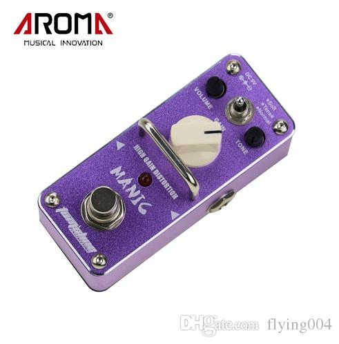 AROMA AMC-3 Manic High Gain Distortion Electric Guitar Effect Pedal Mini Single Effect with True Bypass