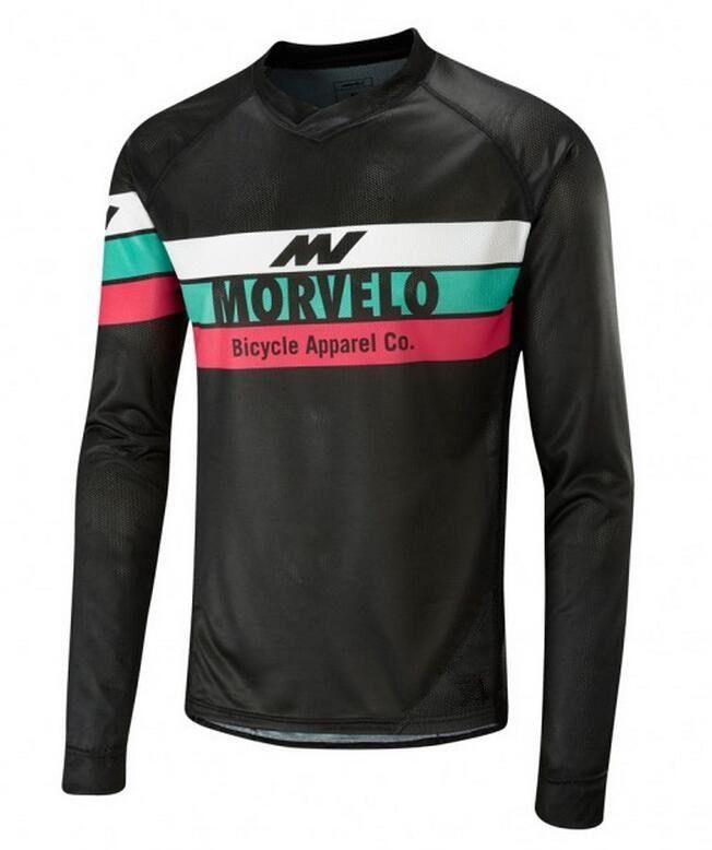 Morvelo Emvee Gt Lightweight Mtb Ls Full Mesh Long Sleeve Summer