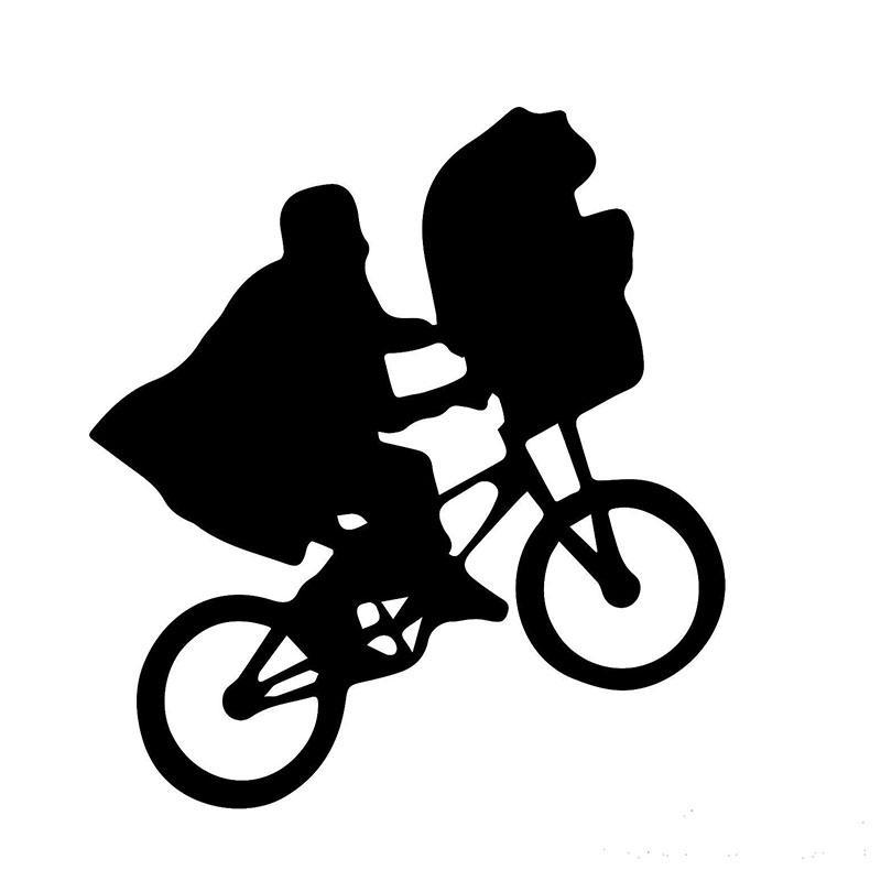 Online Cheap Children'S Sci Fi Movie Clips E.T. Bike Car Sticker For Window  Bumper Motorcycle Canoe Car Cover Vinyl Decal Jdm By Langru1004   Dhgate.Com