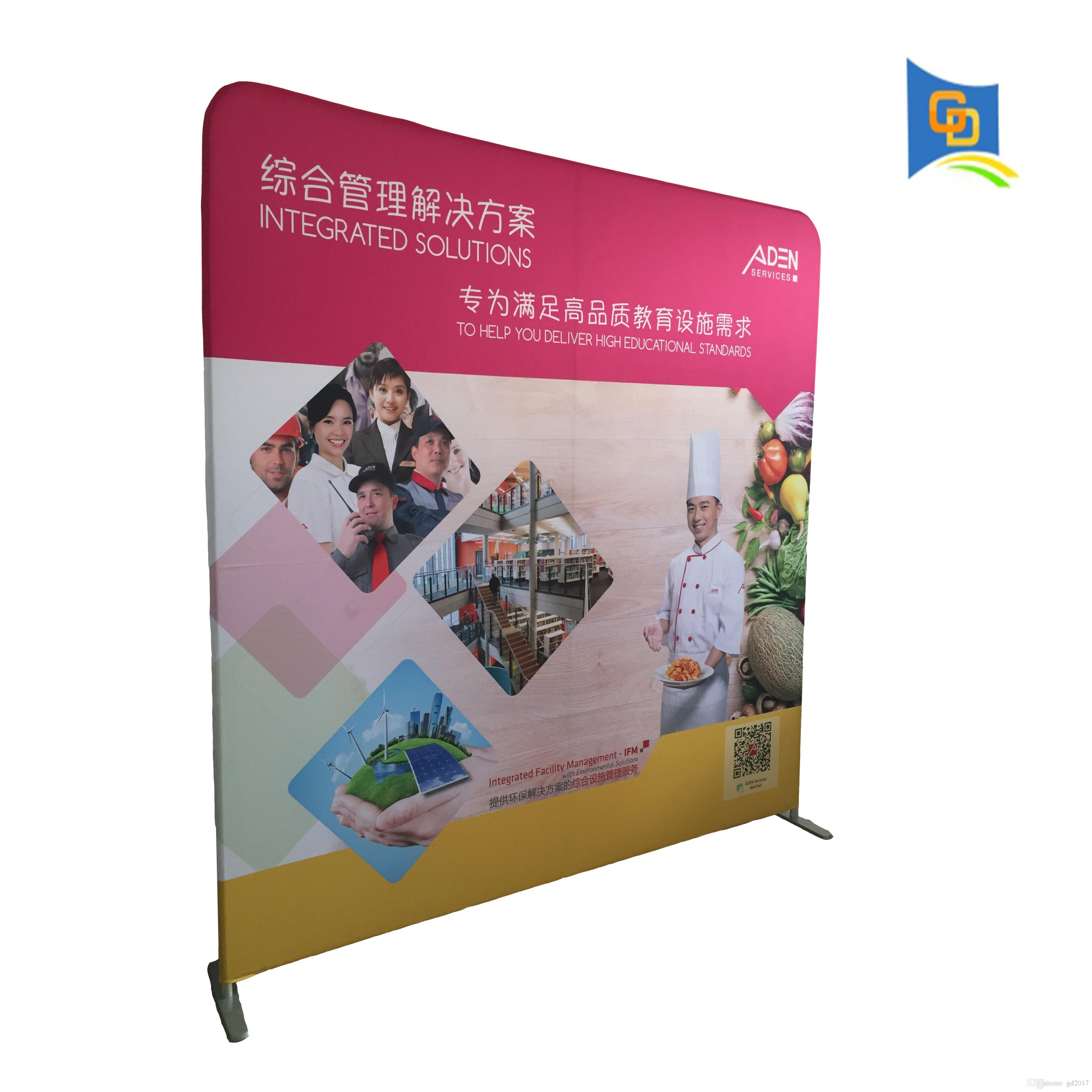 2019 5 9ft Trade Show Straight Shape Tension Fabric
