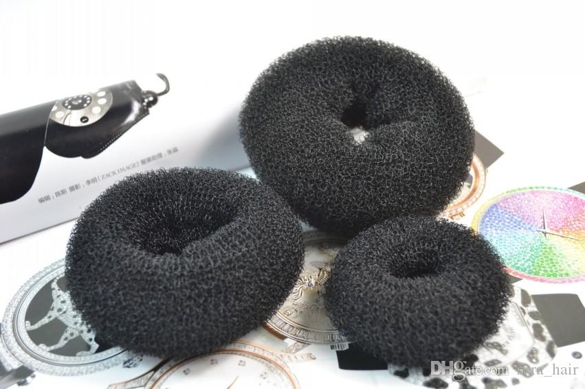 Sara Elastic Donut Hair Band Hairband Accessories Dish Hair Tools Ponytail Holder Dacron Notice : Include S,M,L Each one