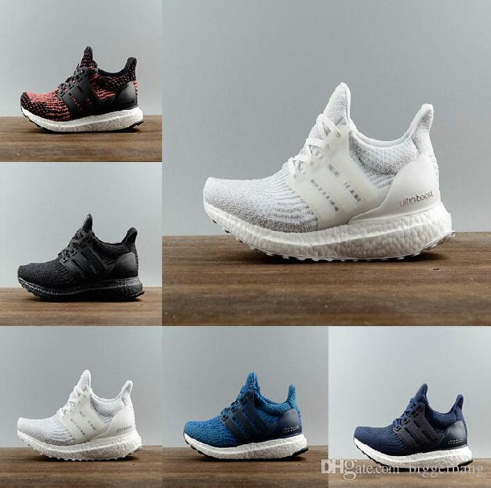 sale amazon 2017 Ultra boost 3.0 Triple Black Running Shoes Men Women Ultra Boost Hypebeast Primeknit Core Black White sport shoes size eur 36-45 sale pay with paypal discount 2014 newest outlet shop for cheap price in China XdmKz