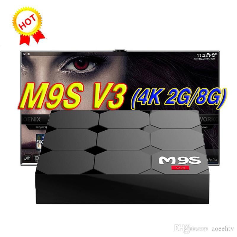 New MXQ Pro M9S V3 4K Rockchip RK3229 Quad Core 2G 8G Android 6 0 Smart TV  BOX Hardware Better T95M T95X