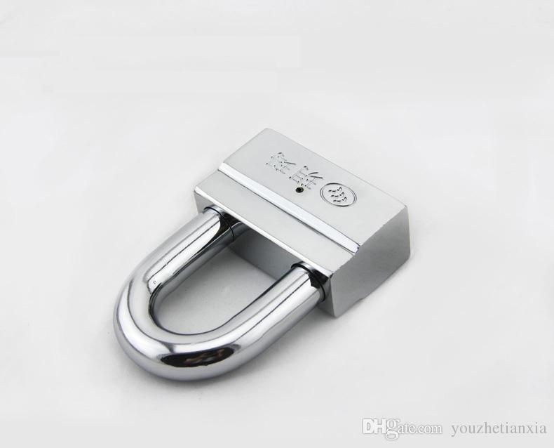 one piece door lock Garage Warehouse door lock Anti-theft brass cylinder Over Class B vane padlock household hardware part