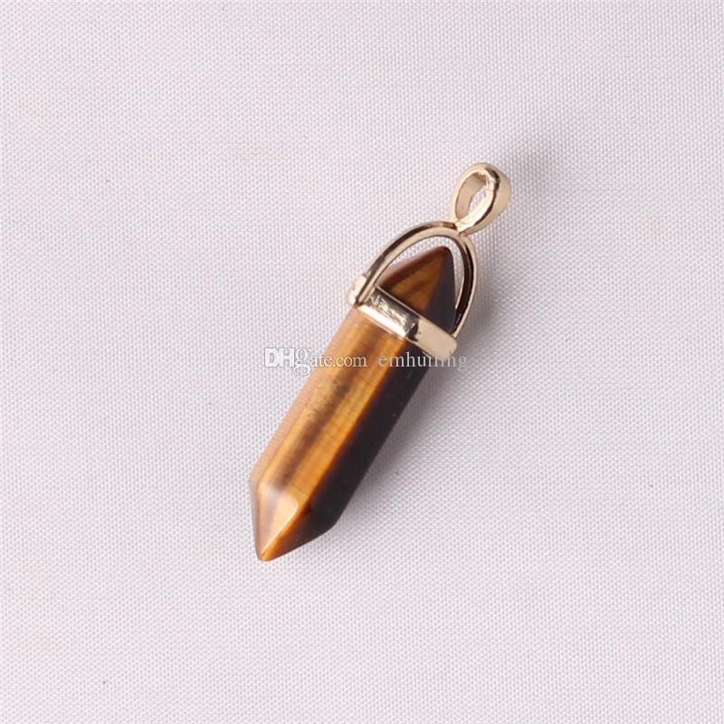 Calmante Stone Red Jasper Necklace Placcato oro Bail Healing Crystal Strong Protection Radice di pietra preziosa Chakra Collana emotivo spirituale