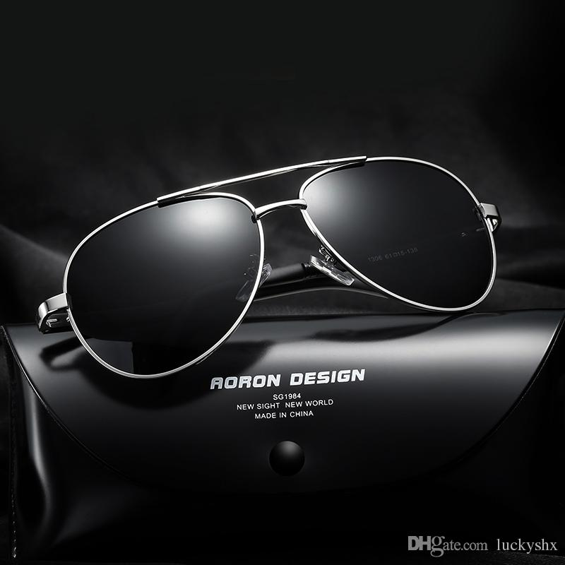b131b48624 Aluminum Magnesium Brand Designer Polarized Sunglasses Men Glasses Driving  Glasses Summer 2017 Eyewear Accessories With Box Cool Sunglasses Custom ...