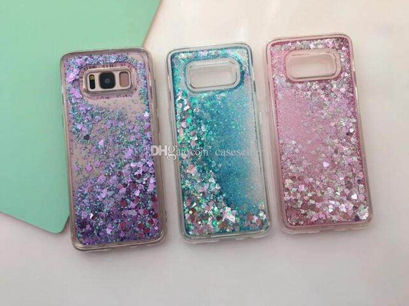 Cellphones & Telecommunications Half-wrapped Case Cheap Sale Glitter Stars Quicksand Liquid Phone Case For Samsung Galaxy S7 S7 Edge S8 Plus S9 Plus Note8 Note9 Love Heart Tpu Back Cover