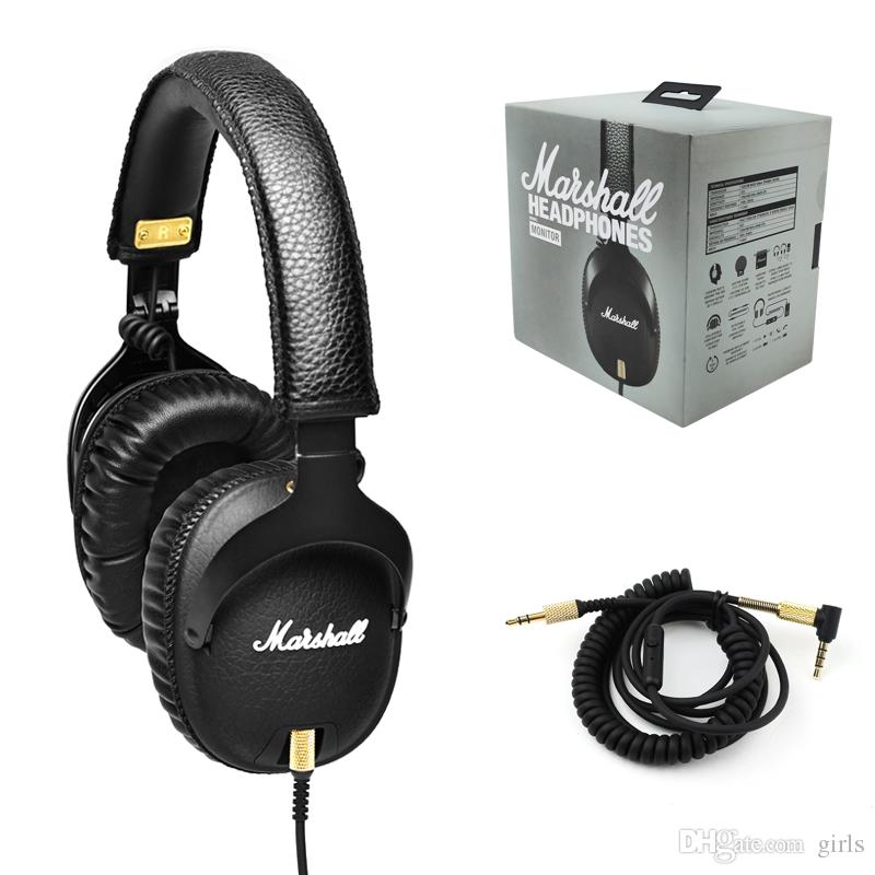 Acheter Marshall Monitor écouteurs Casque Antibruit Bass Bass Studio