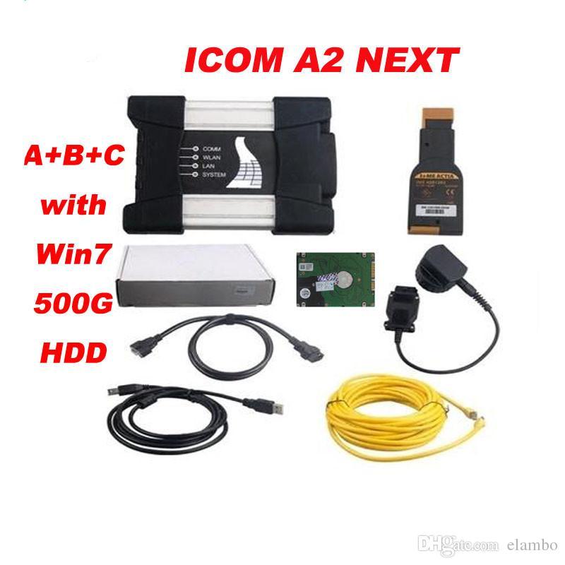 for bmw icom a3 pro ICOM NEXT diagnosis with software expert mode v2017.05 ICOM A2 Software