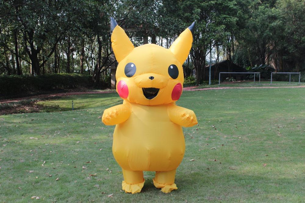 Pikachu Costume Elf Cosplay Inflatable Costume For Adults Outfit Men Women Blowup Mascots Fancy Dress Suit Cheap Costumes Fairy Costumes From Happywalk ... & Pikachu Costume Elf Cosplay Inflatable Costume For Adults Outfit Men ...