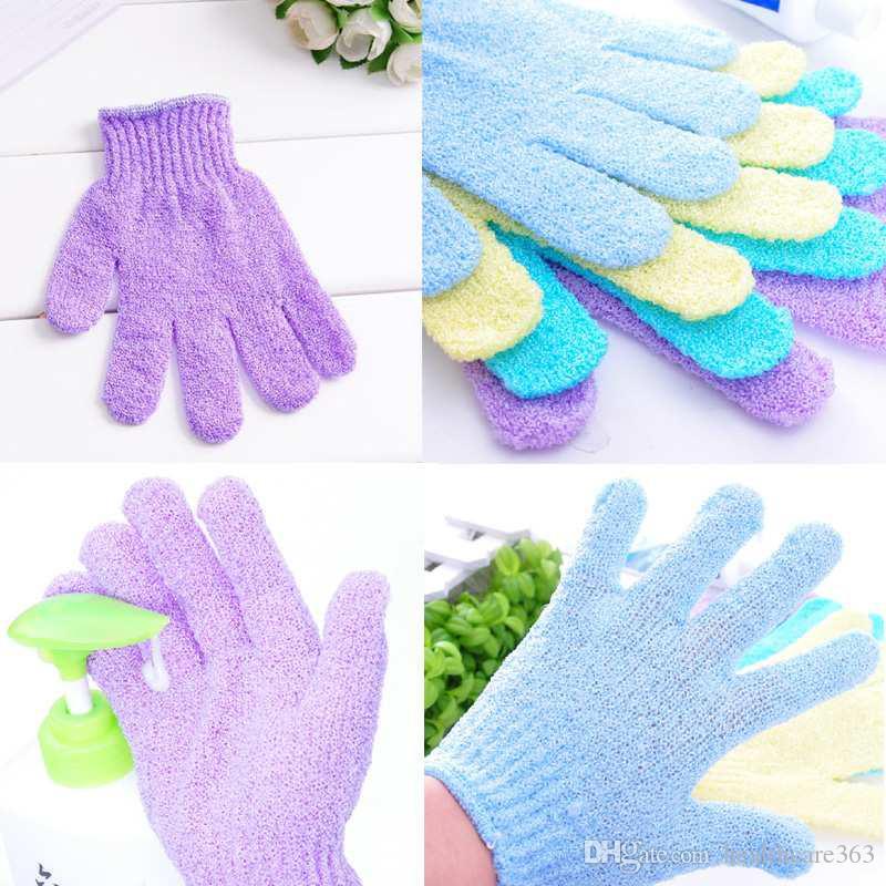 1pc Baby Bath Gloves Shower Sponge Exfoliating Wash Cloth Towel Cute Baby Cartoon Soft Bathing Bathroom Mitt Glove Foam Rub Numerous In Variety Furniture