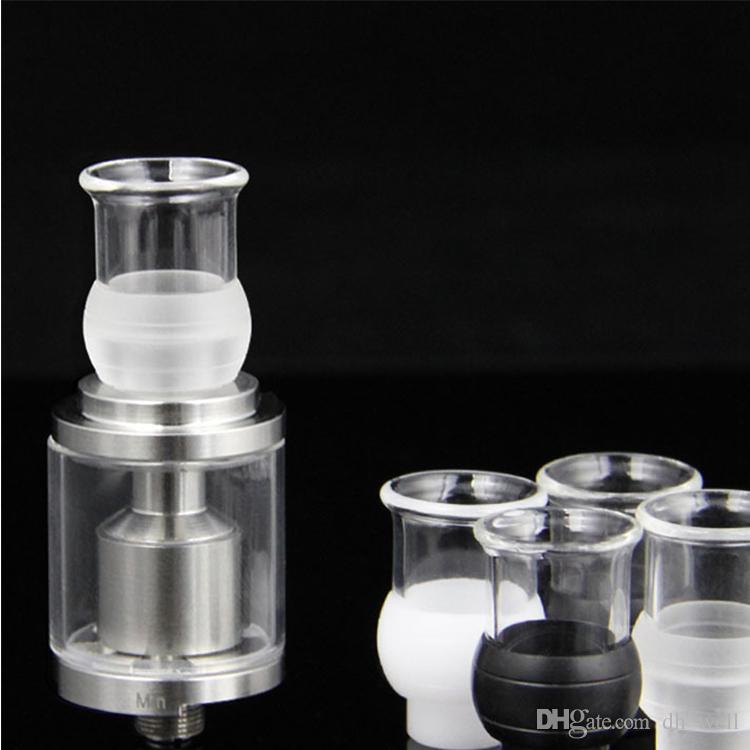 Pyrex vidrio desechable de vidrio de punta bore ancho punta de goteo 510 boquilla EGO para E Cig EVOD Mechanical Vape Mods Atty tanques