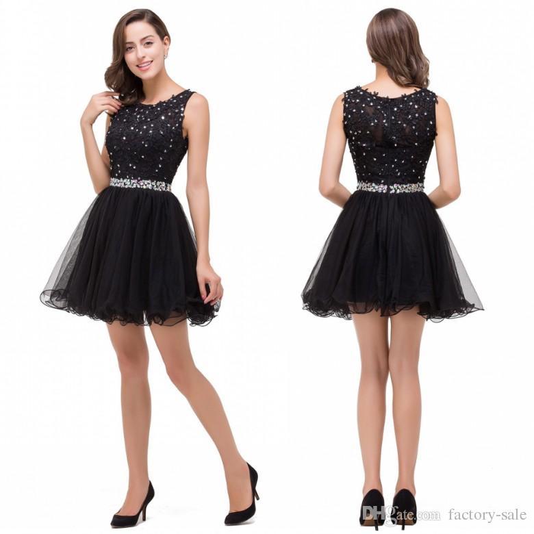 Black dress 8th grade zen