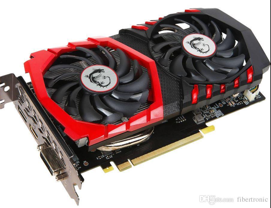 MSI GTX 1050Ti GAMING X 4G 128BIT GDDRI-E 3.0 Nvidia Geforce GTX 1050 بطاقة الفيديو الرسومية HDMI