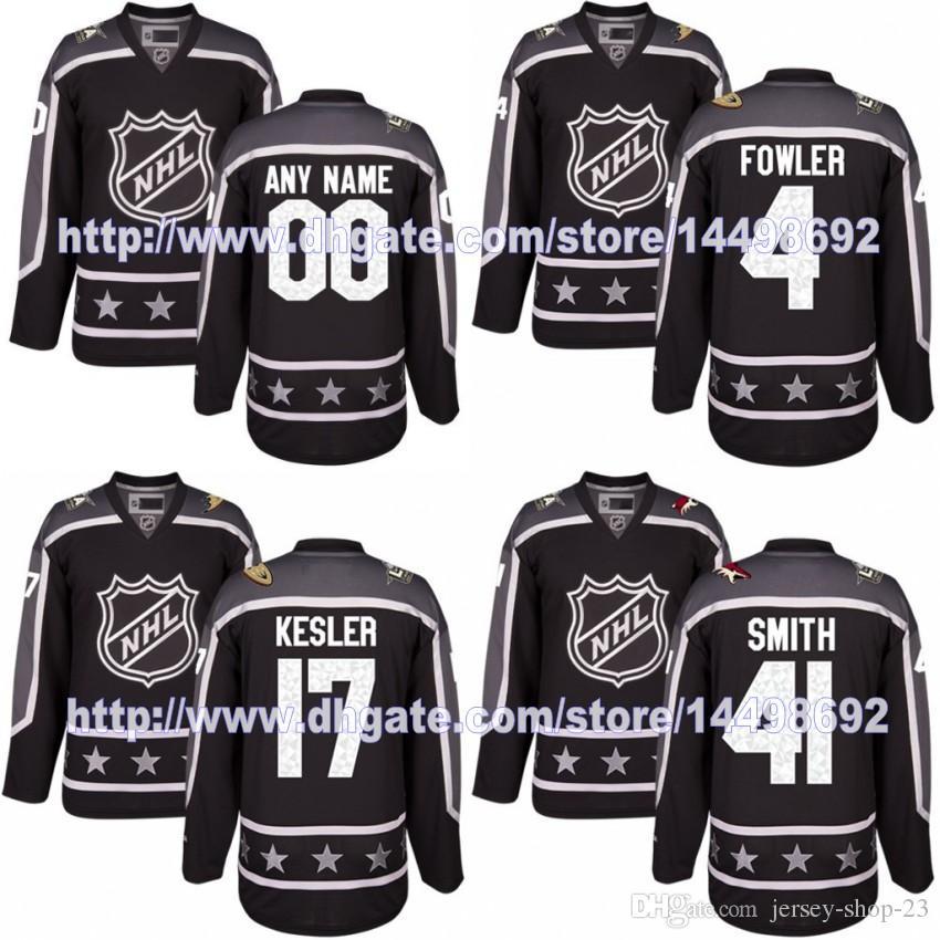 3ea44d8a9 ... Pacific Division 2017 All-Star Premier Jersey Anaheim Ducks 4 Cam Fowler  17 Ryan Kesler ...