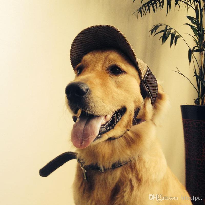 S M L Breathable Baseball Dog Caps Pet Dog Hats Large Dogs Sports Sun Hats  Pet Supplies Blue Khaki Pet Dog Outdoor Accessories UK 2019 From Lifeofpet de210eccb7aa