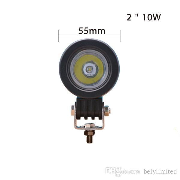 10 W LED Travail Lumière Mini 12 V 24 V Voiture Auto SUV ATV 4 WD AWD 4 X 4 Hors Route Travail Lumière Lampe De Brouillard Moto Camion Phare