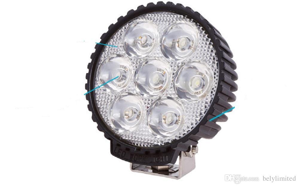 "4"" Round 10v-80v 35W Led driving spot light Car Motorcycle truck tractor headlamp Offroad 4x4 fog light Heavy duty Led work lamp"