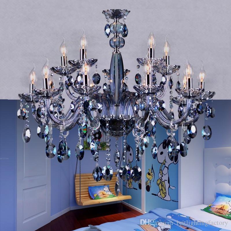 Royal Crystal Chandelier Light Restaurant Lamp Hotel K9