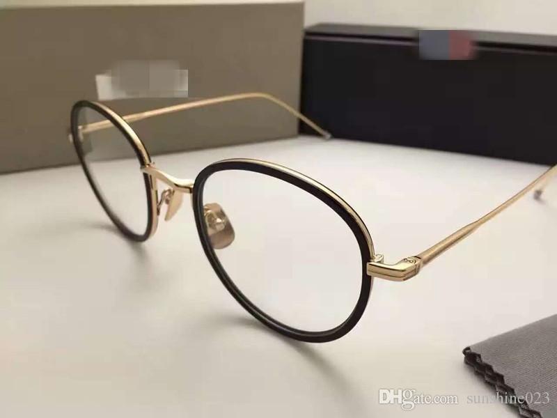 Marque Nouveau TB905 Lunettes Cadres TB-905 Lunettes Pour Hommes Femmes Ordinateur Optique Rond cadre lunettes cadre