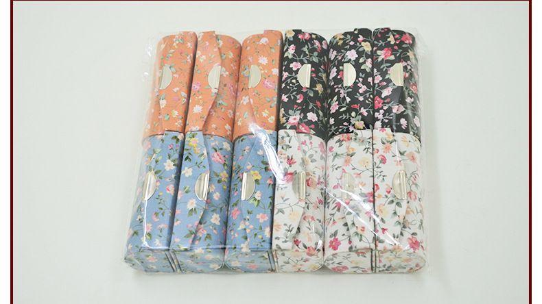 Nowa Lustrzana Przenośna Mała Biżuteria Podróży Case High End Floral Vintage Pusty Szminka Storage Box Lip Balm Packaging Rurki 12 sztuk / partia