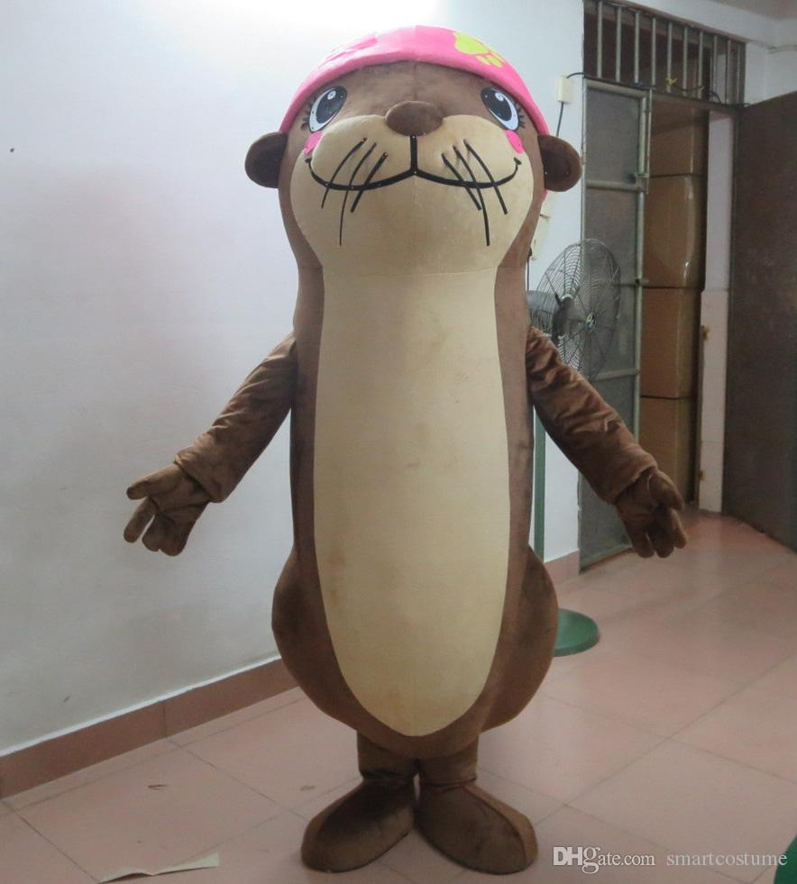 Sx0720 With One Mini Fan Inside The Head Sea Dog Seal Mascot Costume For Adult To Wear For Sale Chipmunk Mascot Costume Halloween Costumes Mascot From ... & Sx0720 With One Mini Fan Inside The Head Sea Dog Seal Mascot Costume ...