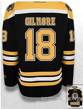 2018 2017 New Boston Bruins Hockey Jerseys #18 Happy Gilmore Black White  Mens Embroidery Jersey,Good Quality Size S 4xl From Gemma_yong, $36.96 |  Dhgate.Com