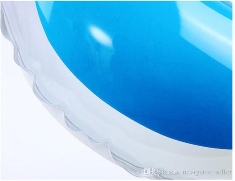 Flotadores inflables para niños Nadar Piscina Juguetes para la playa Niños Natación acuática Vueltas Adulto Colorido Flotador inflable PVC Precio de fábrica DHL / Fedex