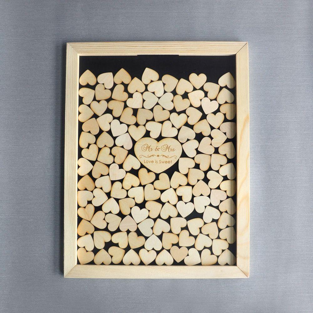2018 Wedding Guest Book Alternative,Mr Mrs Love Is Sweet Wedding ...