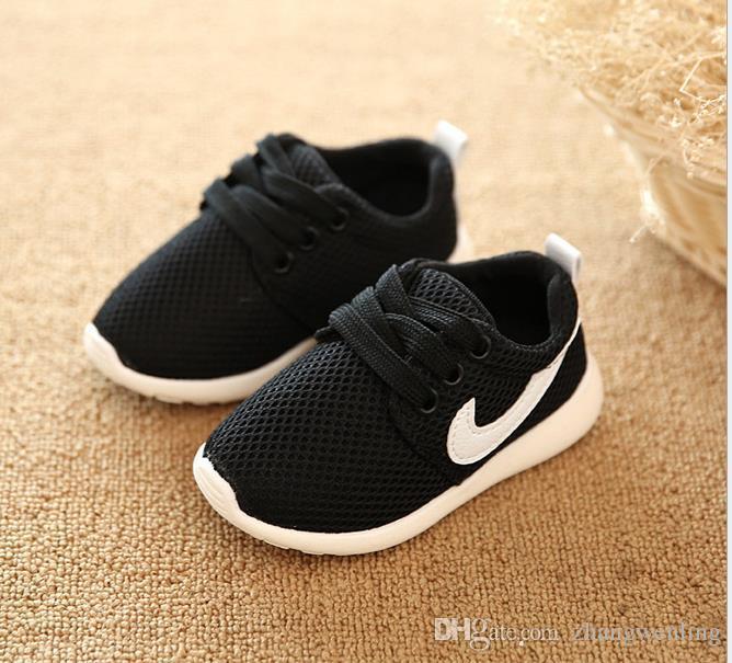 Printemps Toile Enfants Chaussures Fille Sneaker Respirant Chaussures GarçonsFilles Pas Smelly Pieds Doux Chaussure / Enfants Sneakers