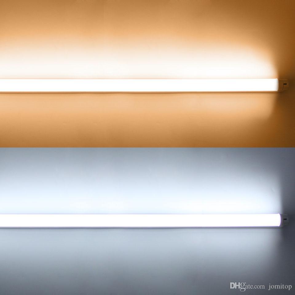 1ft 1.5ft G13 T8 Bombillas 0.3M 0.45M 4W 6W LED Lámparas de tubo Tubo fluorescente Lámpara cálido NatualCold SMD2835