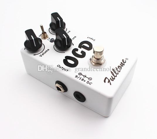Obsessive Compulsive Drive Overdrive/Distortion OCD Guitar Effect Pedal Two mode selection HI/LOW And True Bypass
