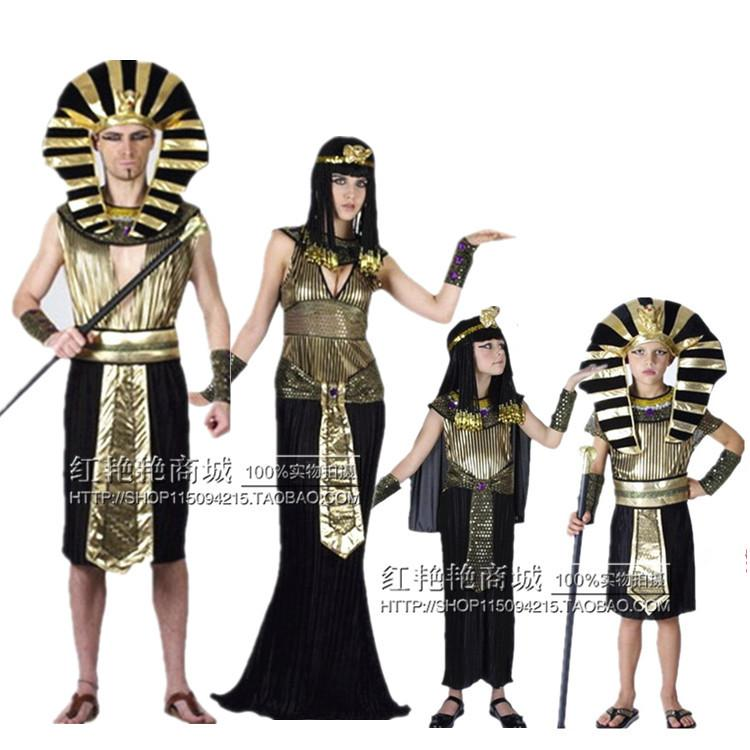 1d53cc9347e9 Acquista Cosplay Costume Di Halloween Palla Costume Adulti Bambini Vestiti  Di Re Cleopatra Dopo Cleopatra A $26.14 Dal Peisi | DHgate.Com