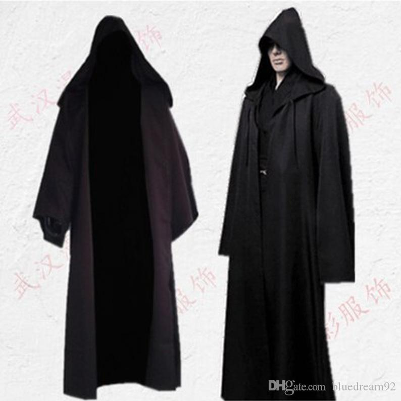Cos Jedi Knight cloak woman halloween costume stage performance cosplay costumes adult men superhero cape halloween robe pirate costume