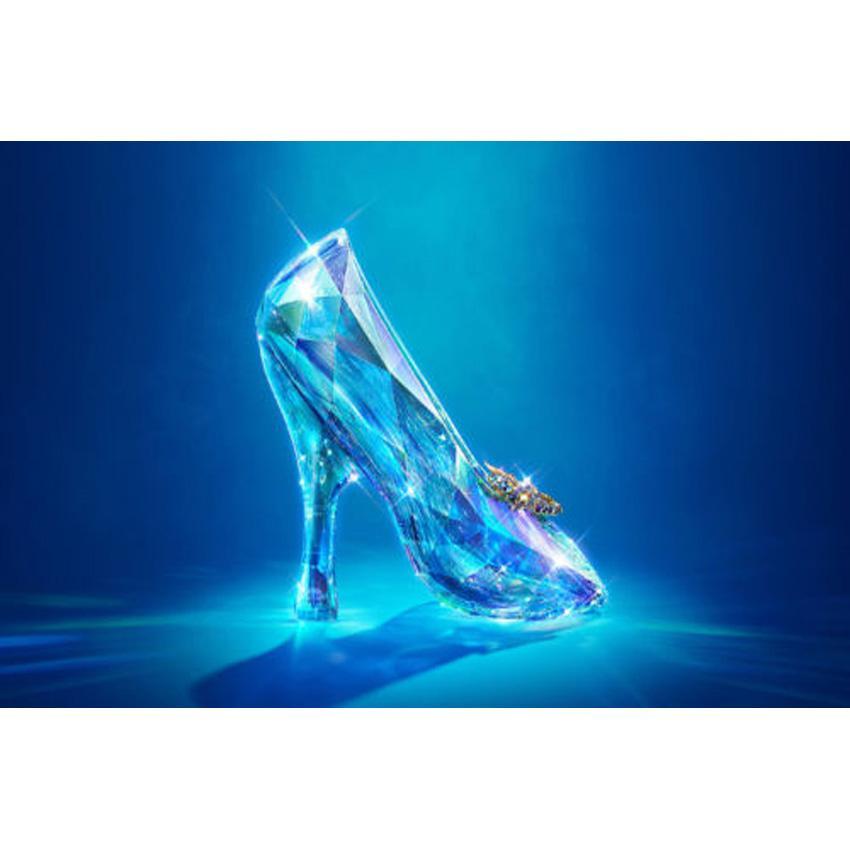 Satın Al Külkedisinin Kristal Ayakkabı Tam Matkap Diy Mozaik Iğne